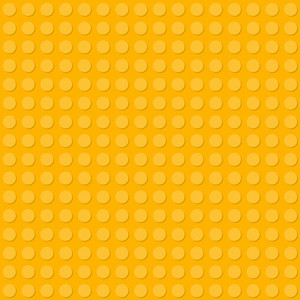Yellow Lego Pattern