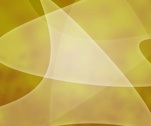 Yellow Light Shapes Background