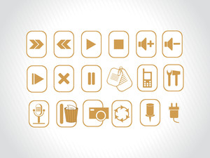 Yellow Logos And Web Icons