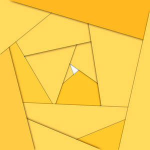 Yellow maze abstract background