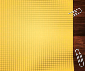 Yellow Office Paper Background