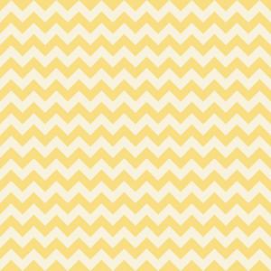 Yellow Pastel Chevron Pattern