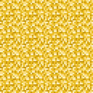Yellow Pixelated Pattern