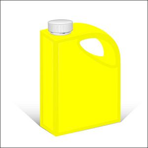 Yellow Plastic Cane