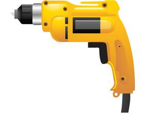 Yellow Powerdrill