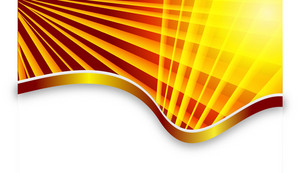 Yellow Rays Vector