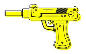 Yellow Retro Gun