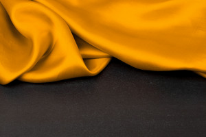 Yellow satin or silk background