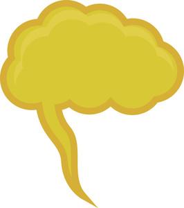 Yellow Speech Bubble