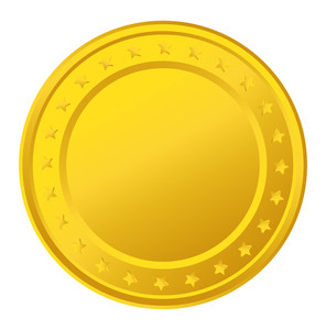 Yellow Stars Coin