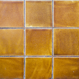 Yellow tile asian style