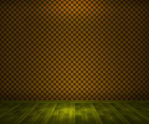 Yellow Vintage Room Background