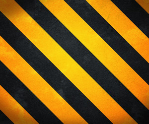 Yellow Warning Stripes Background