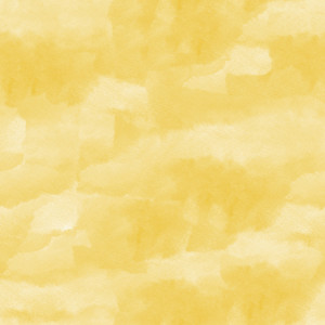 Yellow Watercolor Paint Square