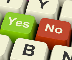 Yes No Keys Representing Uncertainty And Decisions Online