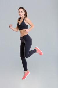 young sportswoman