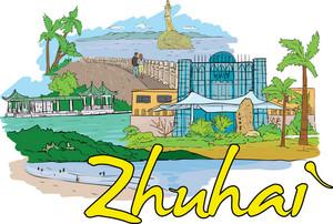 Zhuhai Vector Doodle