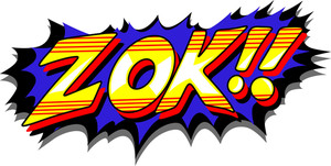 Zok - Comic Expression Vector Text