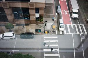 Aerial street view