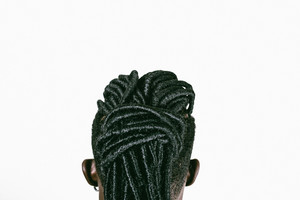 Braided hairstyle shown from the back