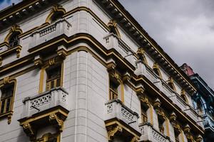 Corner building in France
