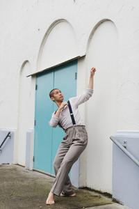 Dancer in movement
