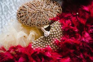 Fancy Nigerian wedding jewelry and beads