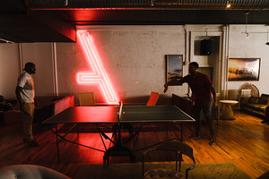 game of ping pong
