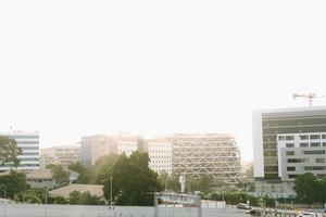 Ghanaian cityscape