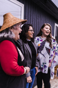 Group of ladies laughing