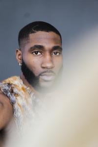 Nigerian man with a beard