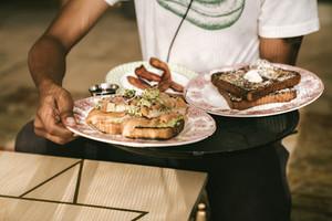plate of sandwich