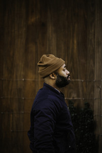 profile of a black man