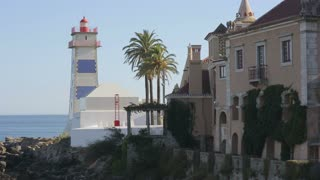 Lighthouse of  cascais portugal Europe, ocean coastline