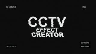 Cctv Effect Creator