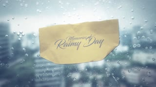 Memory of Rainy Day