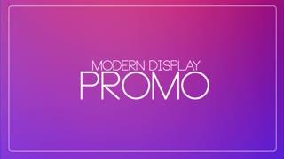 Modern Display Promo