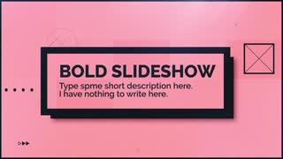 Bold Slideshow