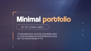 Minimal Portfolio