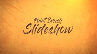 Paint Brush Slideshow