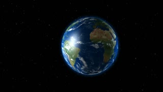 Earth camera zoom in