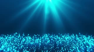 Elegant Blue Motion Background Animation Looped