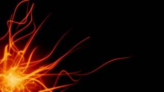 Fire light streaks