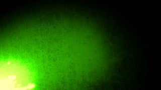 Glowing streaks green animation