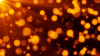 Golden Defocused Particles