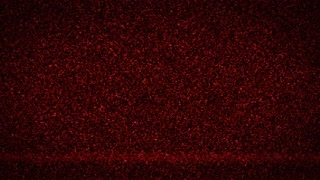 Red television noise