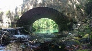 Beautiful view of Zrmanja river in Croatia