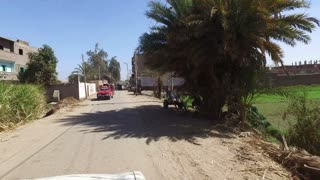 DARAW, EGYPT - FEBRUARY 6, 2016: Street view of Daraw town
