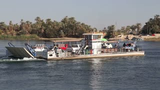 Ferry boat on the Nile
