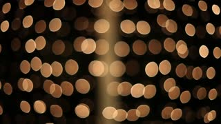 Flashing Christmas lights background